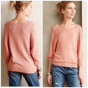 Anthropologie Moth Icehouse Pullover Sweater